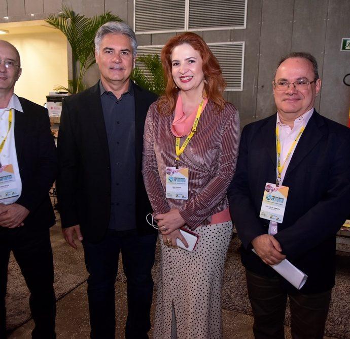 Mario Prado, Régis Dias, Enid Câmara, Luiz Carlos