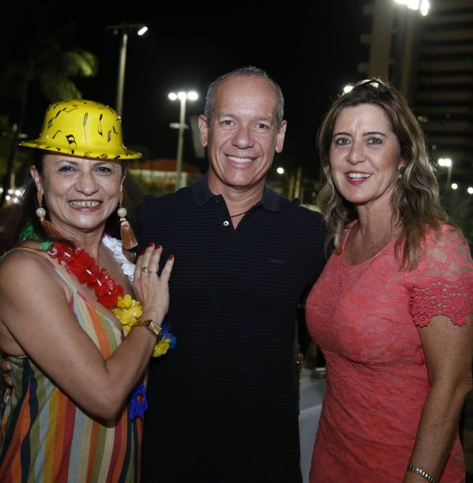 Maslova Mesquita, Beto Cavalcante E Ana Claudia Rego