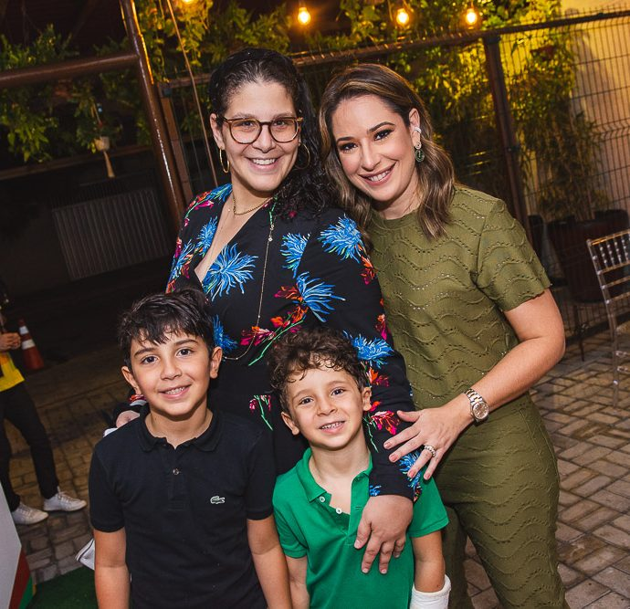 Matheus Ary, Carol Ary, Joao Ary E Silvinha Leal