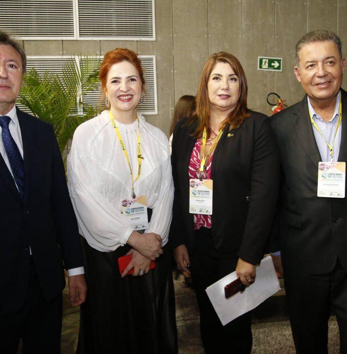 Mauricio Filizola, Fatima Facuri, Alexandre Sampaio E Enid Camara