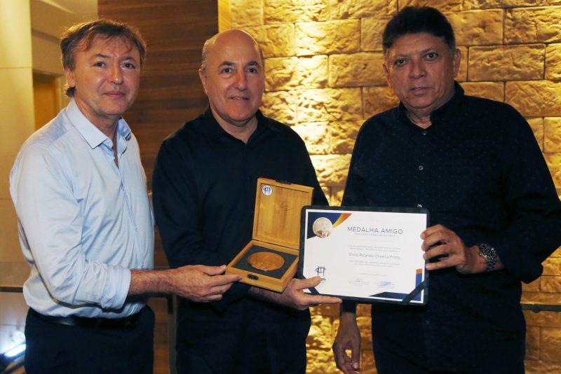 Mauricio Filizola, Silvio Frota E Luiz Helder