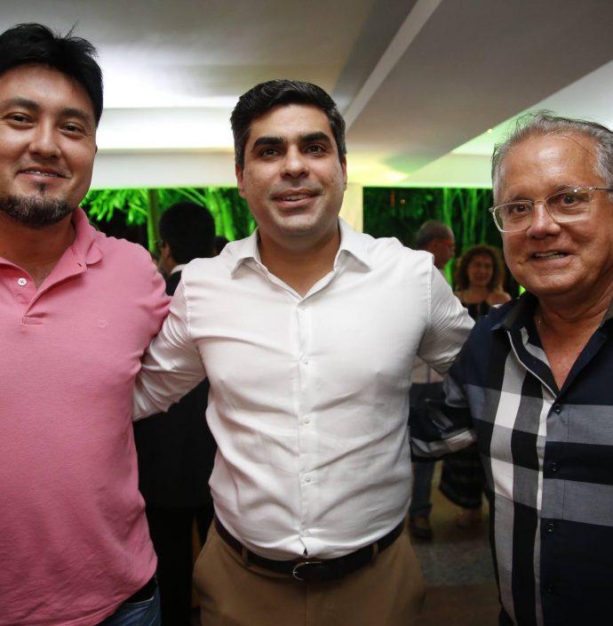 Michel Lins, Queiroz Filho E Paulo Melo