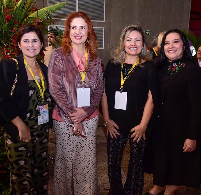 Micheline Camarço, Enid Câmara, Stela Pavan, Norma Zélia