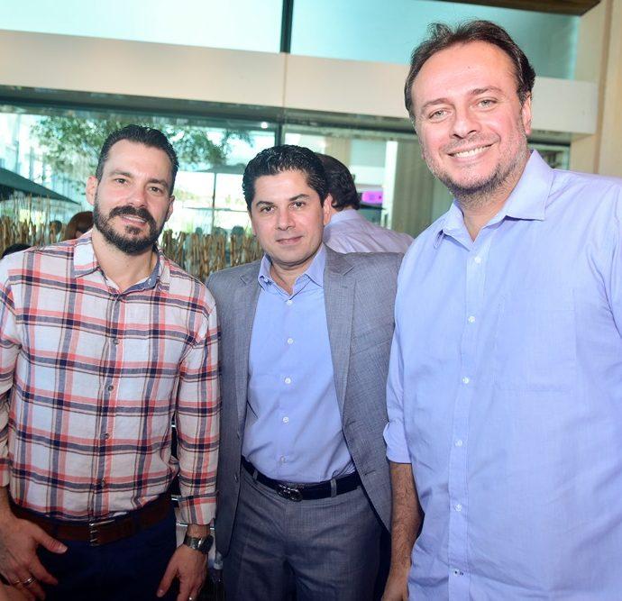 Miguel Filho, Pompeu Vasconcelos, Adriano Nogueira