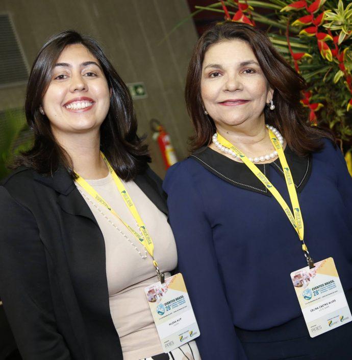 Milena Auipe E Celina Castro Alves