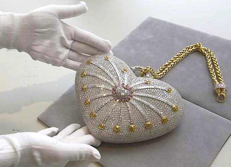 Mouawad 1001 Nights Diamond Purse Bolsa Mais Cara Do Mundo