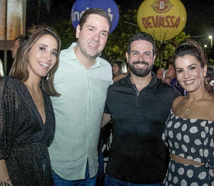 Nádia E Eduardo Bismarck, Gil E Juliana Cutrim