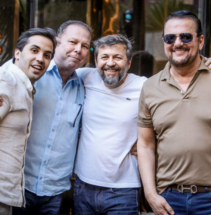 Netinho Bayde, Júlio Ventura, Élcio Batista E Adrisio Camara