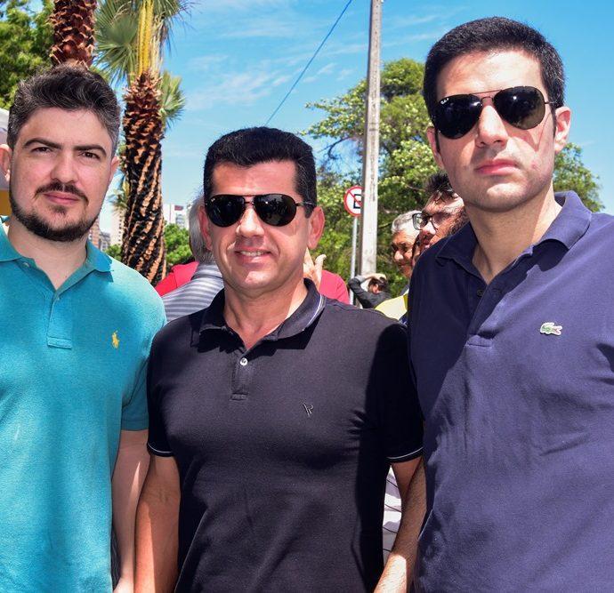 Neuvani Vasconcelos, Erick Vasconcelos, Rodrigo Nogueira