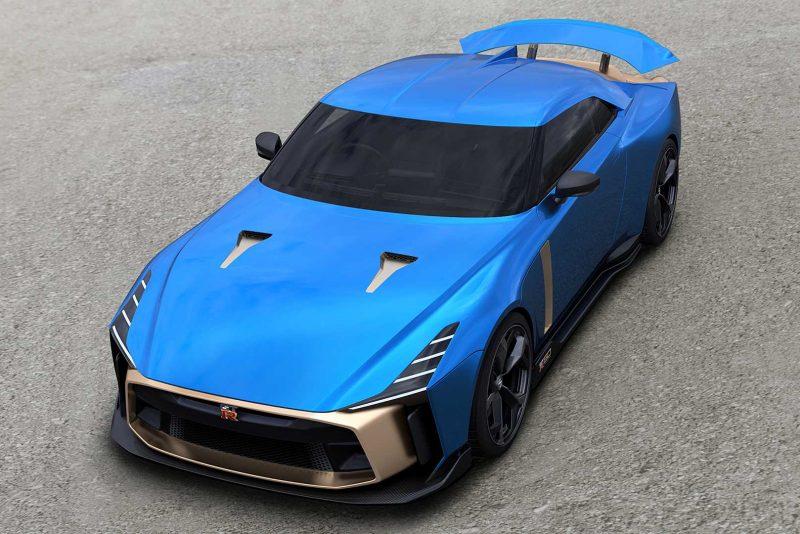 Uma super máquina de 720 cv e quase sem limites: Nissan GT-R50