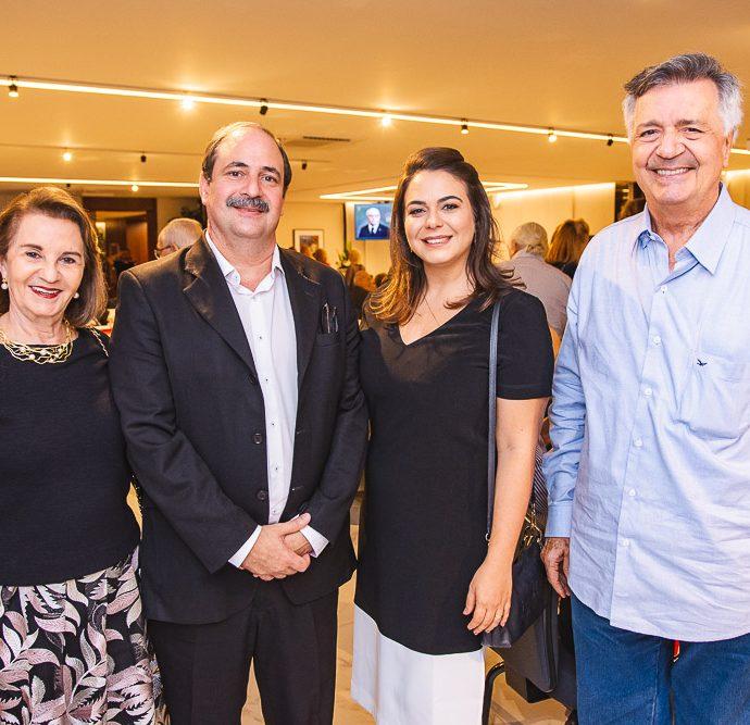 Olga Holanda, Andre Holanda, Mariana Holanda E Lauro Chaves Filho