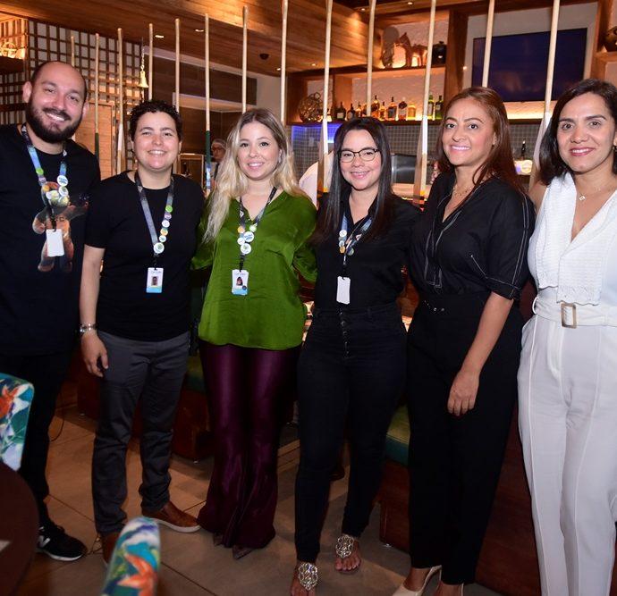 Oscar Filho, Paula Andrade, Maira Guerreiro, Juliana Rocha, Michele Ribeiro, Karina Farani