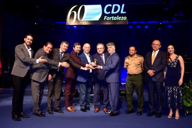 CDL de Fortaleza entrega o Troféu Iracema 2019 ao empresário Wellington Holanda