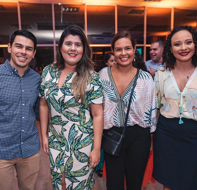 Pablo Mota, Raiara Custodio, Glenda Sampaio E Rejane Cavalcante