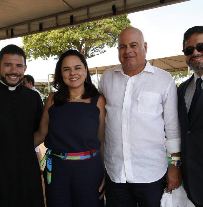 Padre Washington, Denise E Luciano Cavalcante E Pastor Ricardo