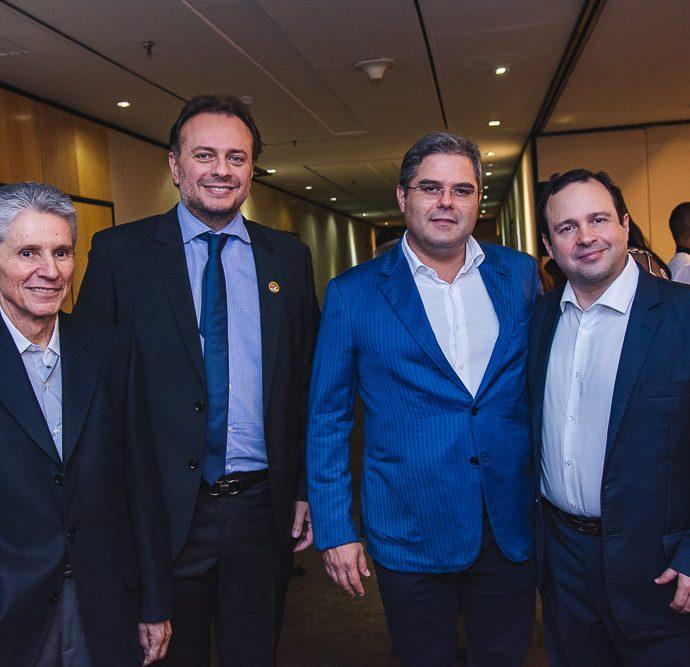 Padua Lopes, Adriano Nogueira, Edson Queiroz E Igor Barroso