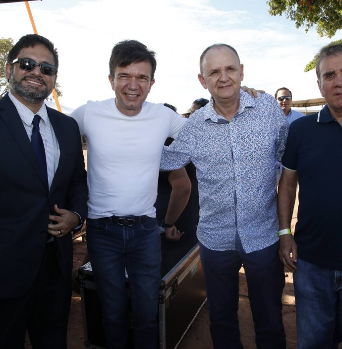 Pastor Ricardo, Waldonys, Francisco Caminha E Luiz Antonio