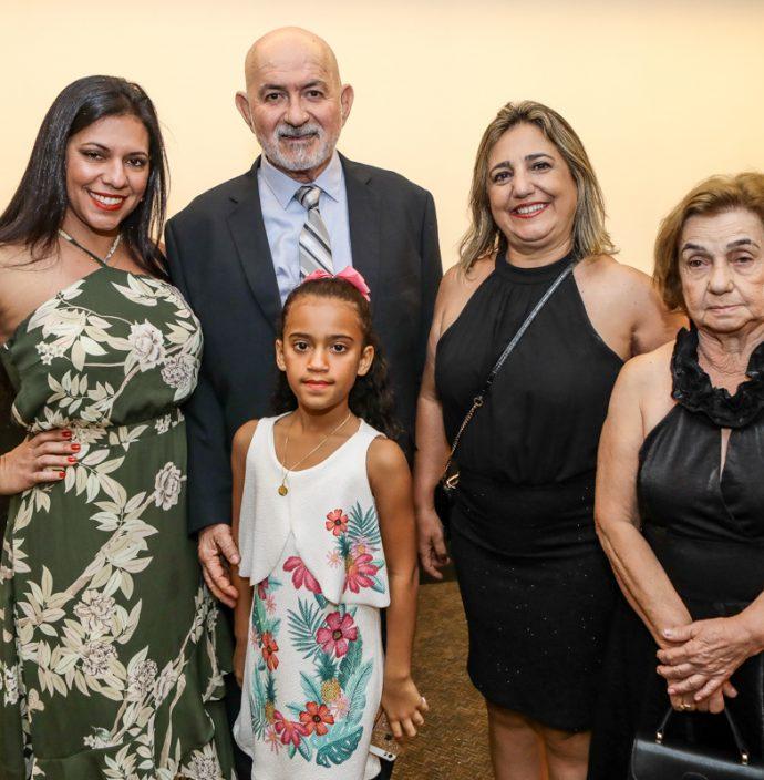 Patricia Baranda, Manoel Lisboa, Sofia Barbosa, Cristaine Sales E Maria Alice