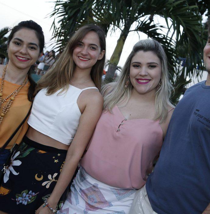 Patricia Goncalves, Priscila Almeida, Fernanda Rabelo E Gabriel Perez