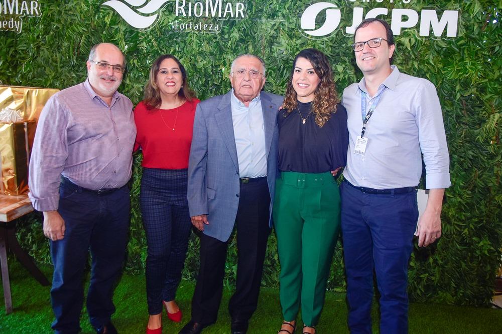 João Carlos Paes Mendonça recebe a imprensa para special lunch no RioMar Fortaleza