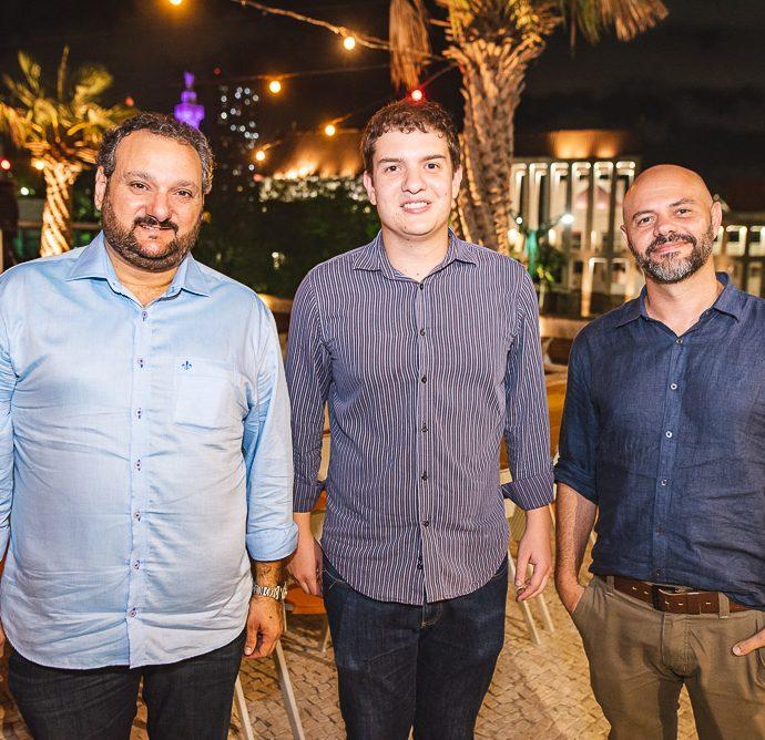 Patriolino Dias, Guilherme Colares E Eurico Nunes