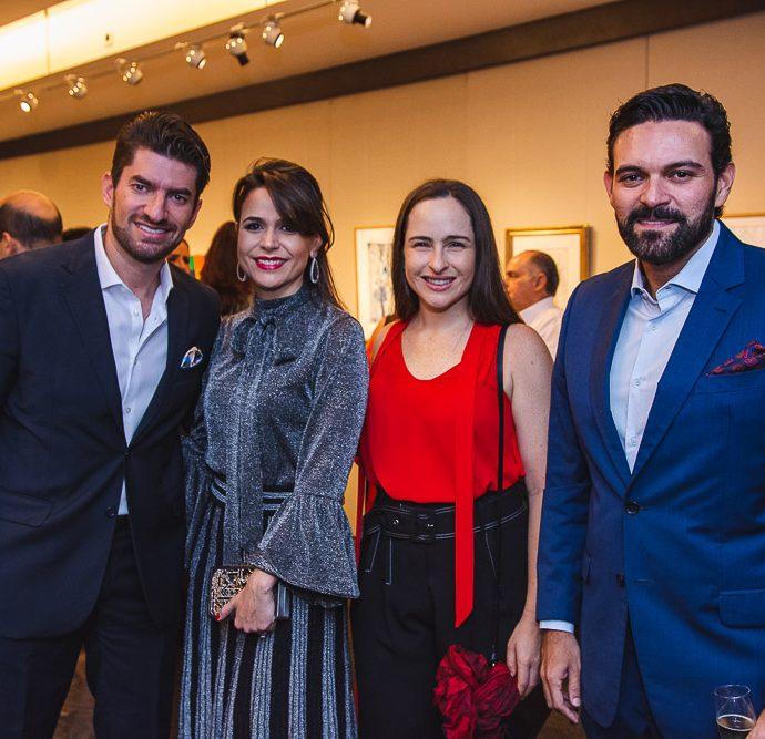 Paulo Benevides, Camila Benevides, Bia Fiuza E Clovis Holanda