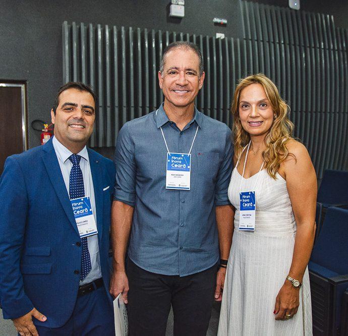 Paulo Lobao, Regis Medeiros E Anna Christina Tavares