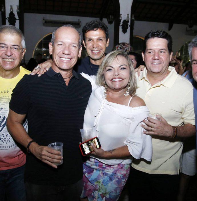 Pc Noroes, Beto Cavalcante, Ronaldo Costa Limathea Moreira, Fabio Junior E Sergio Aguiar