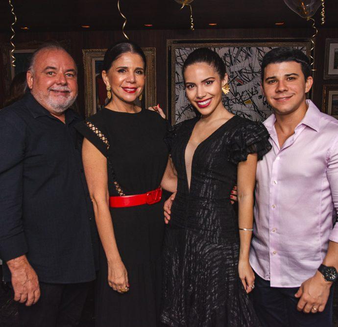 Pedro Carapeba, Maria Lucia Negrao, Nicole Vasconcelos E Pedro Paulo Negrao
