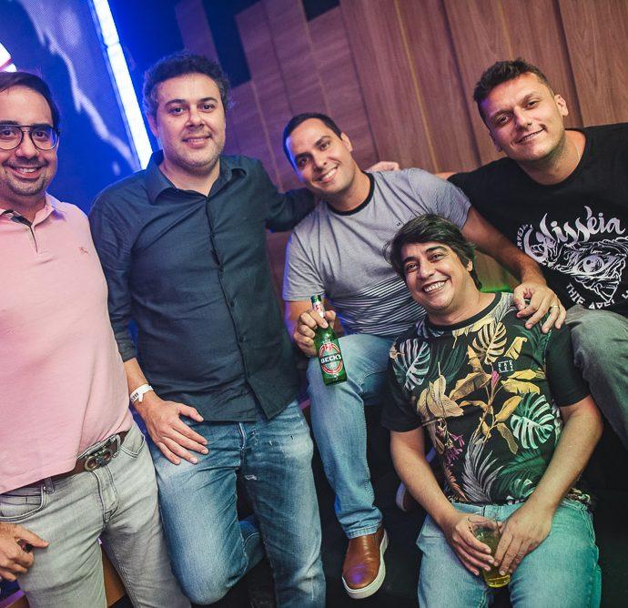 Pedro De Castro, Gustavo Cruz, Marcelo Gentil E Lucas Donadel
