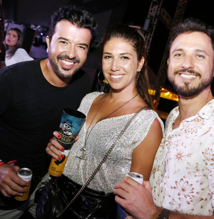 Pedro Freitas, Bruna Capeli E Flavio Andrade