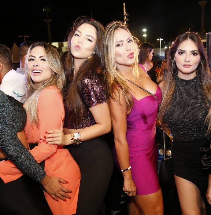 Perla De Cassia, Nayana Lima, Luana Passos, Renata Quadros, Rafaela Ferrari E Lais Veras