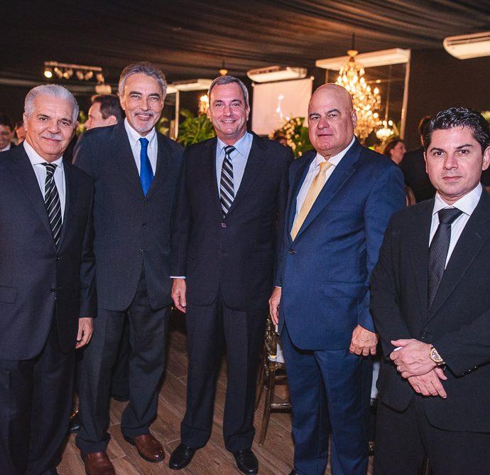 Pio Rodrigues, Paulo Angelim, Kalil Otoch, Luciano Cavalcante E Pompeu Vasconcelos