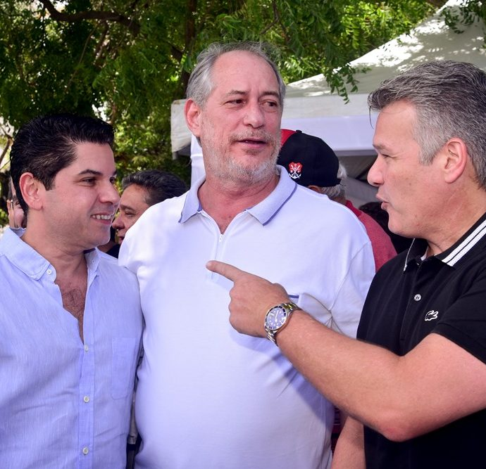 Pompeu Vasconcelos, Ciro Gomes, Ferruccio Feitosa