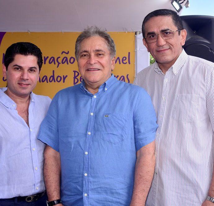 Pompeu Vasconcelos, Luiz Pontes, Denisio Pinheiro