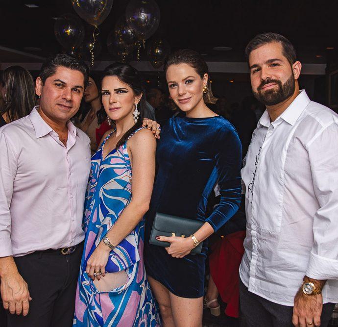 Pompeu Vasconcelos, Marilia Vasconcelos, Paulinha Sampaio E Felipe Rocha