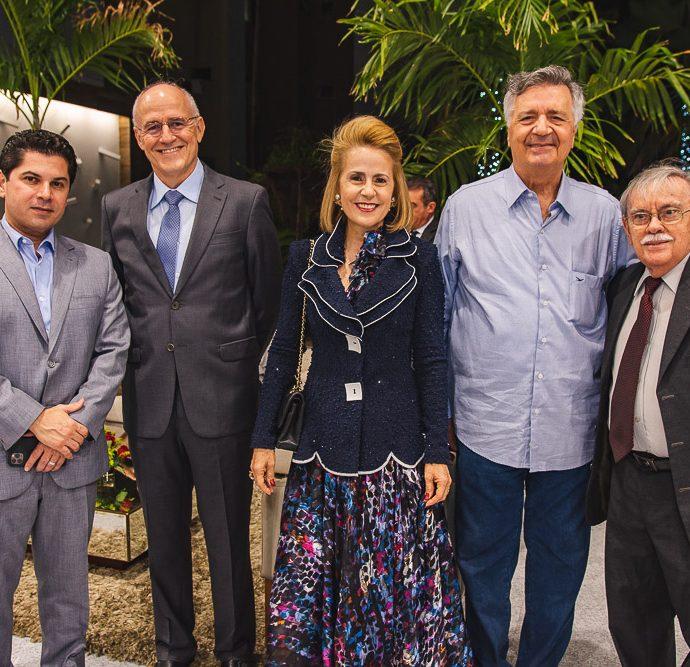 Pompeu Vasconcelos, Rui Castelo Branco, Tereza Ximenes, Lauro Chaves Filho E Raimundo Padilha