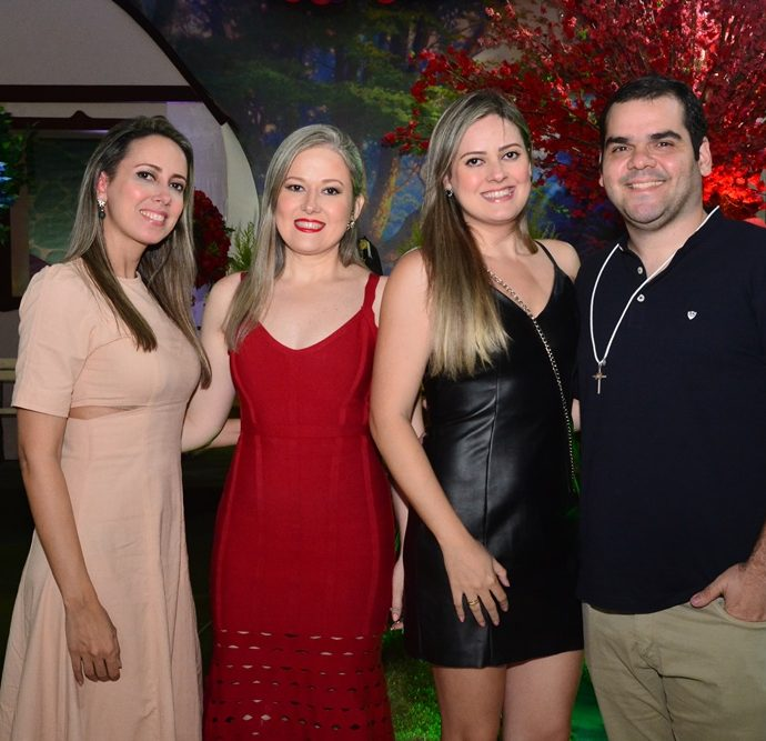 Priscila, Ticiana E Debora Bessa, Vitor Araujo