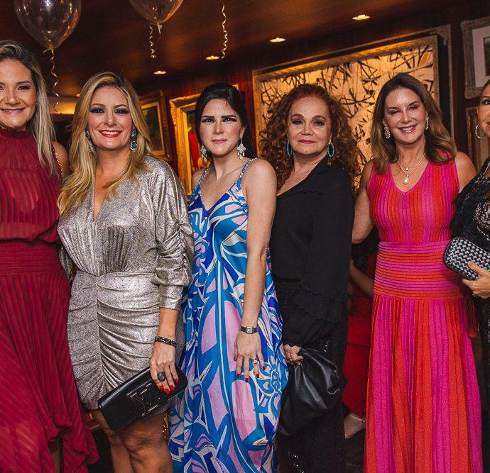 Rachel Fortes, Tatiana Luna, Marilia Quintao, Liseux Brasileiro, Fernanda Mattoso E Weyne Moreira