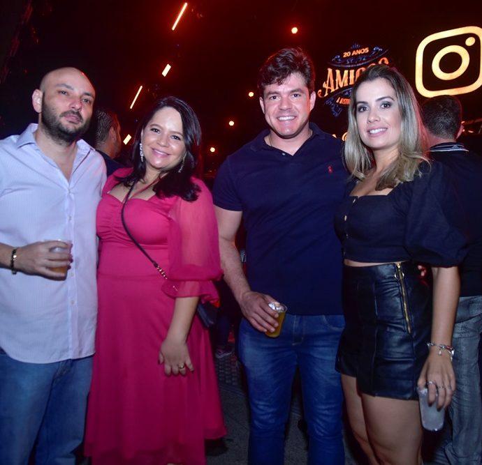 Rafael Nogueira, Livia Braga, Elton Luna, Carine Borges