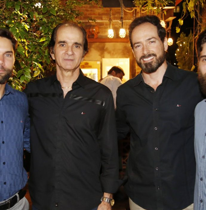 Rafael Pordeus, Decio Sanford, Beto Ary E Gustavo Sanford