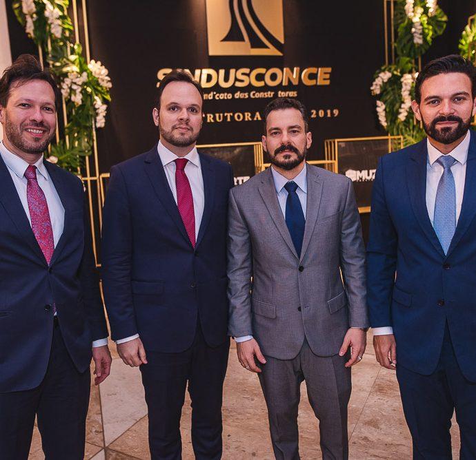 Rafael Xereis, Carlos Pinheiro, Miguel Dias E Clovis Holanda