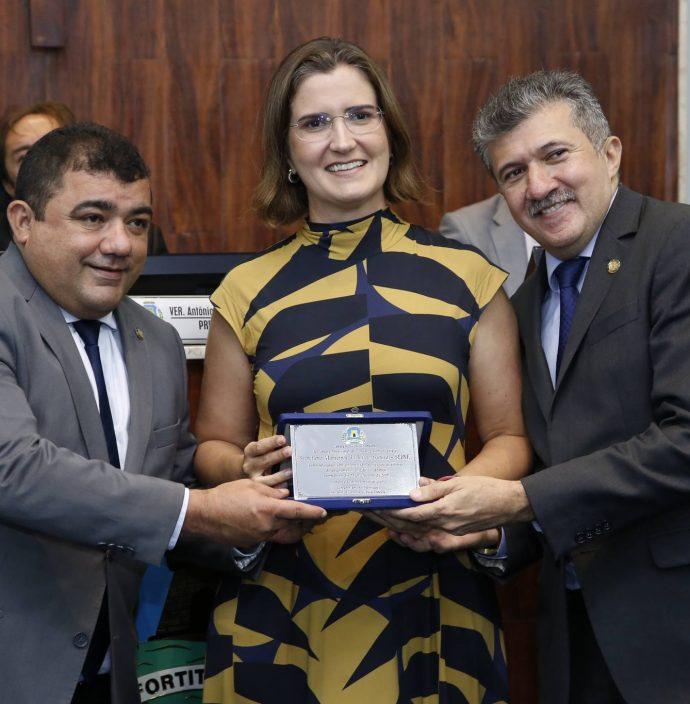 Raimundo Filho, Manoela Nogueira E Antonio Henrique