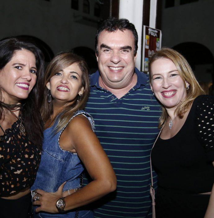 Renata Castro, Rosario Gurgel, Claudio Ary E Maricia Barroso