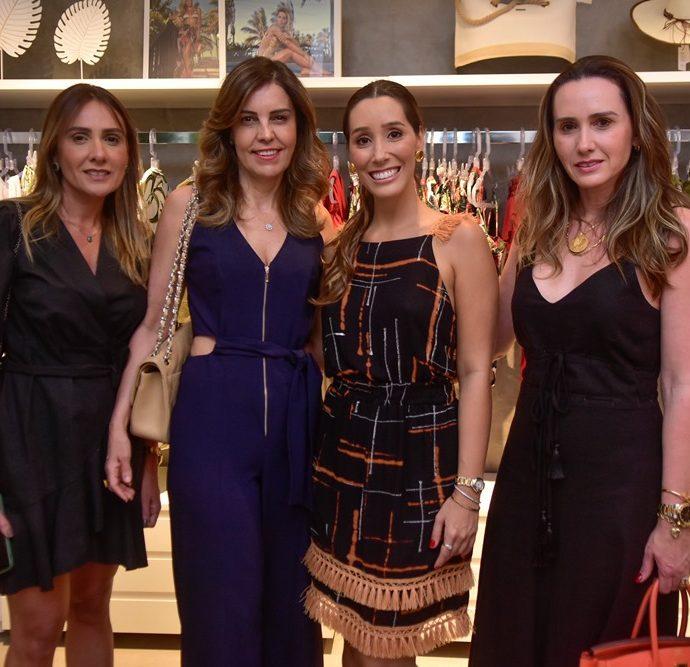 Renata Oliveira, Rosele Diogo, Manuela Melo, Roberta Nogueira