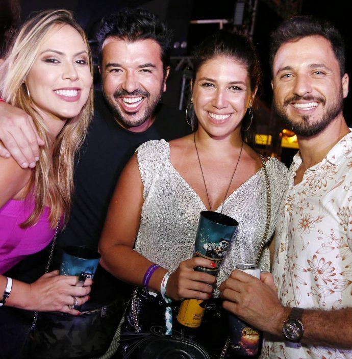 Renata Quadros, Pedro Freitas, Bruna Capeli E Flavio Andrade