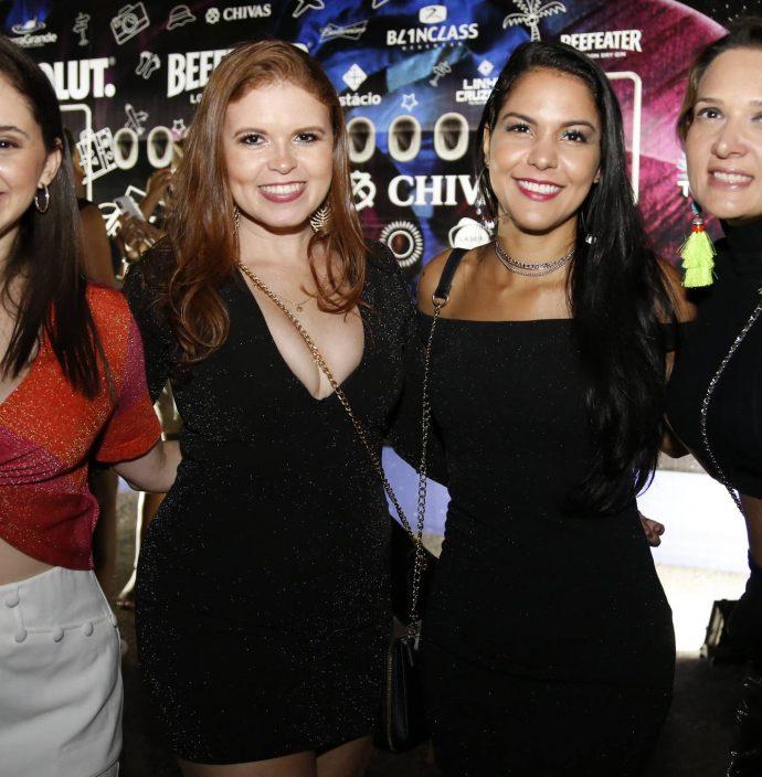 Renata Rodrigues, Nara Raquel, Anne Lima E Sinthya Martins