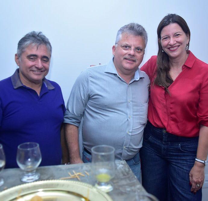 Renato Célio, Alexandre Alencar, Lia Gomes