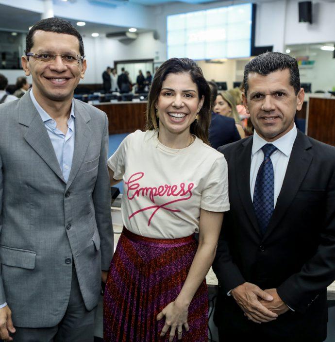 Renato Lima, Carol Bezerra E Erick Vasconcelos