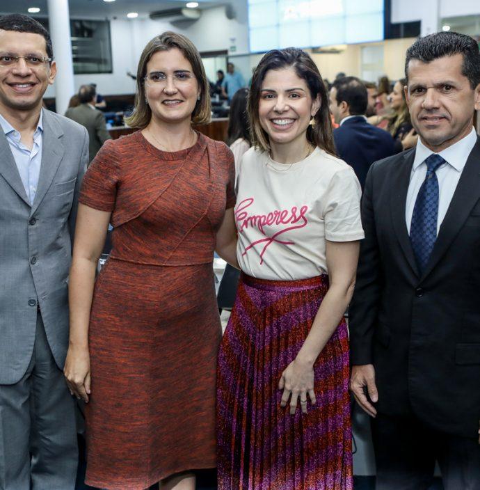 Renato Lima, Manoela Nogueira, Carol Bezerra E Erick Vasconcelos